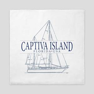 Captiva Island - Queen Duvet