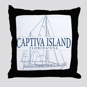 Captiva Island - Throw Pillow