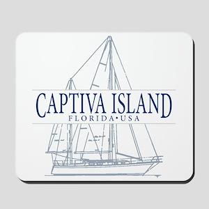Captiva Island - Mousepad