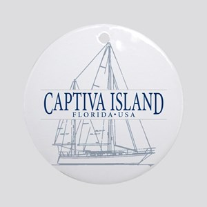 Captiva Island - Ornament (Round)
