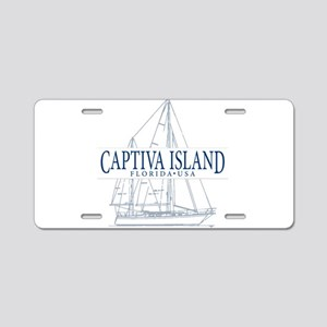 Captiva Island - Aluminum License Plate