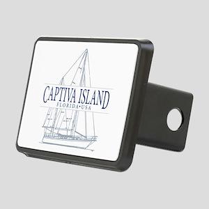 Captiva Island - Rectangular Hitch Cover