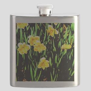 Spring Daffodils Flask