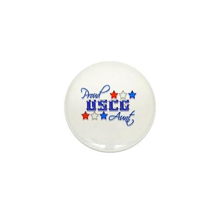 USCG Aunt Mini Button