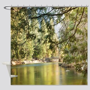 Up the Lazy River Shower Curtain