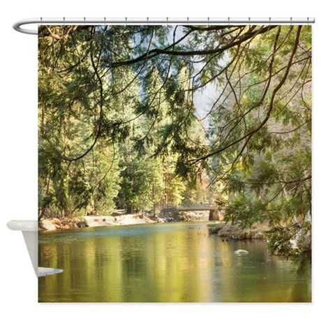 Up The Lazy River Shower Curtain By ADMIN CP113483648