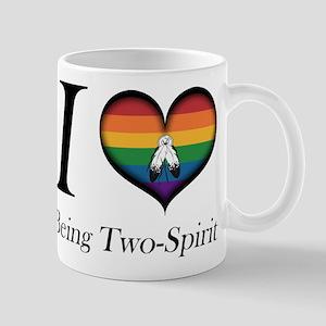I Heart Being Two-Spirit Mugs