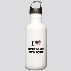 I love Long Beach New Stainless Water Bottle 1.0L
