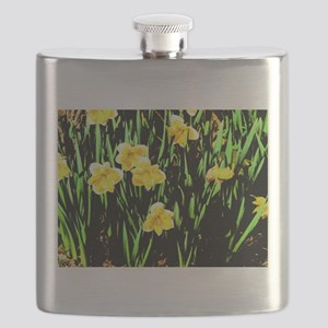 Spring Daffodil Flask