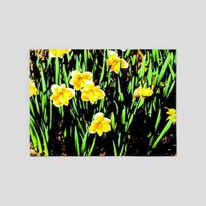 Spring Daffodil 5'x7'Area Rug