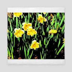 Spring Daffodil Queen Duvet