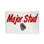 USAF Major Stud Rectangle Magnet (10 pack)