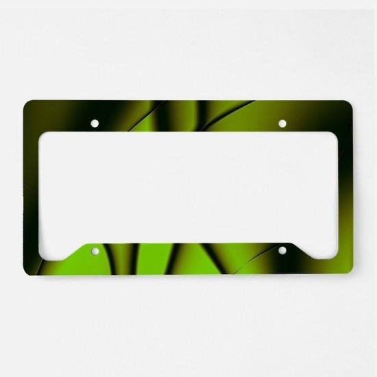 Green Soul License Plate Holder