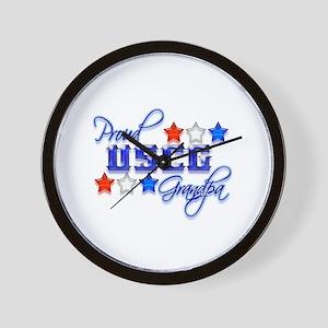USCG Grandpa Wall Clock