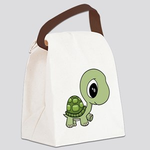 Baby Turtle Canvas Lunch Bag