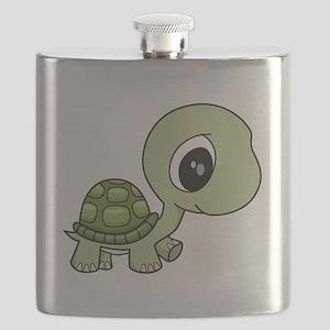 Baby Turtle Flask