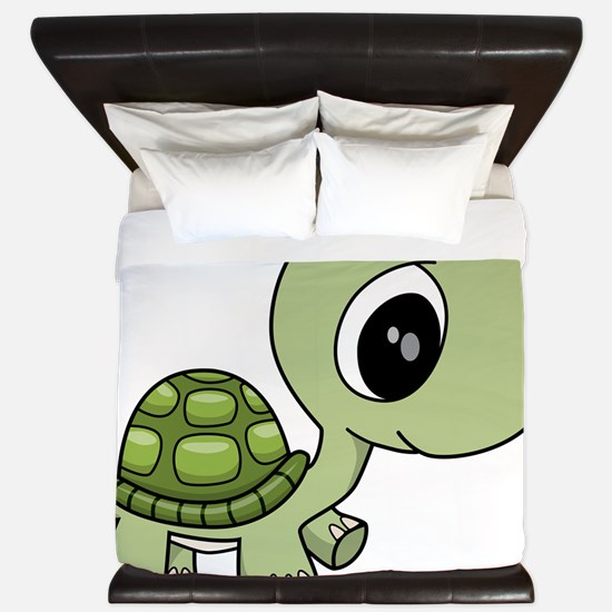 Baby Turtle King Duvet