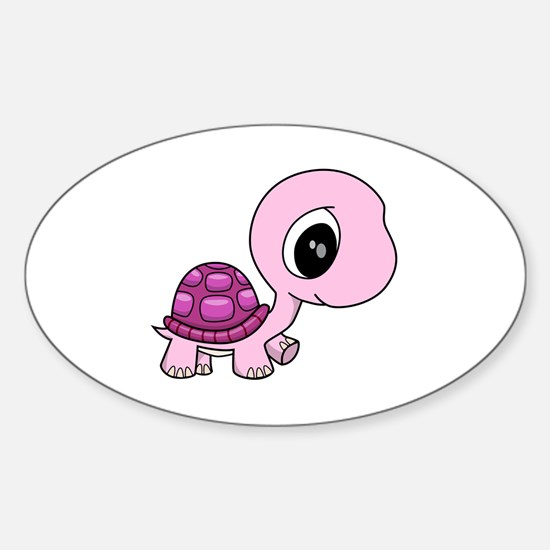 Baby Turtle Sticker (Oval)
