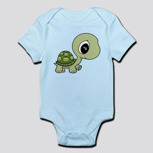 Green Baby Turtle Body Suit