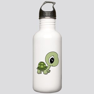 Green Baby Turtle Stainless Water Bottle 1.0L