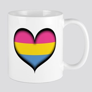 Pansexual Heart Mugs