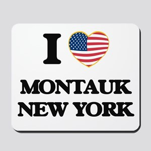 I love Montauk New York Mousepad