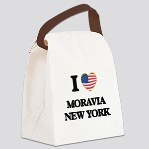 I love Moravia New York Canvas Lunch Bag