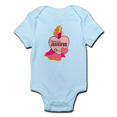 Princess Jennifer Infant Bodysuit