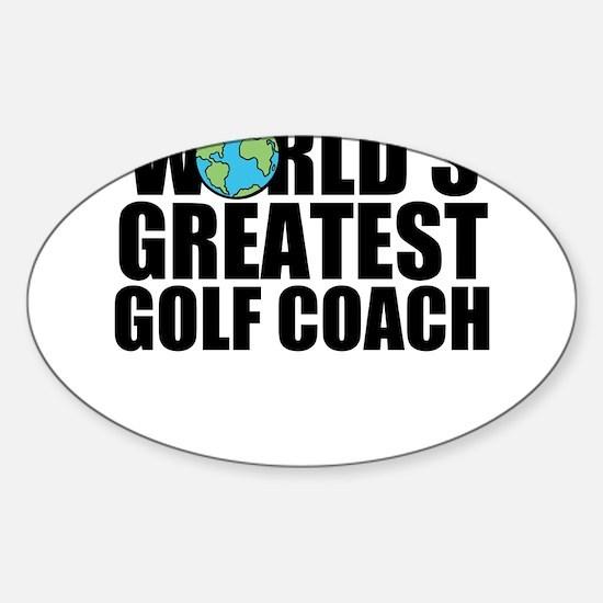 World's Greatest Golf Coach Decal