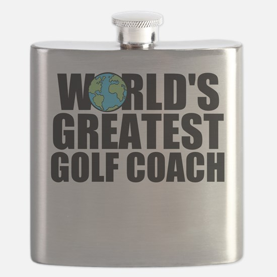 World's Greatest Golf Coach Flask