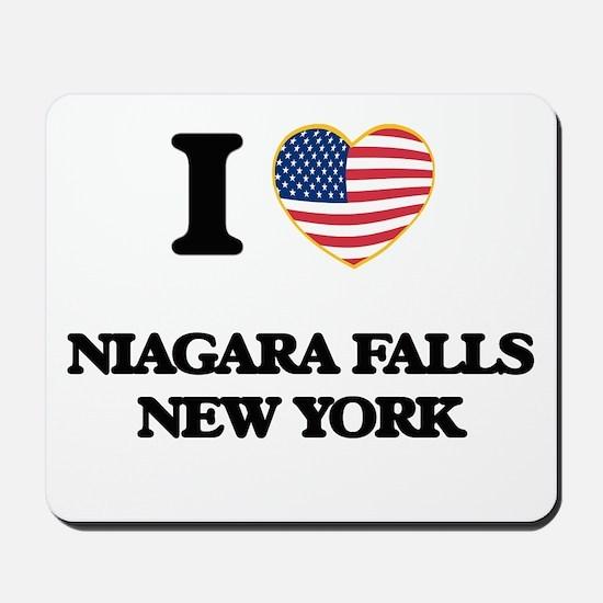 I love Niagara Falls New York Mousepad