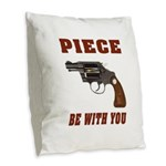 PIECE Burlap Throw Pillow