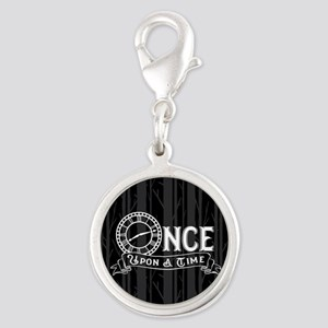 Once Upon A Time Silver Round Charm