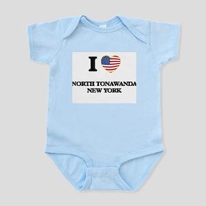 I love North Tonawanda New York Body Suit