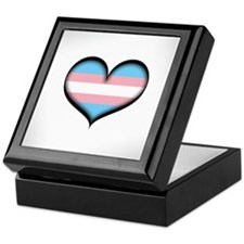 Transgender Heart Keepsake Box