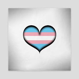 Transgender Heart Queen Duvet