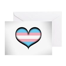 Transgender Heart Greeting Card