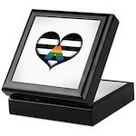 LGBT Ally Heart Keepsake Box