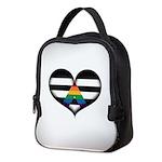 LGBT Ally Heart Neoprene Lunch Bag