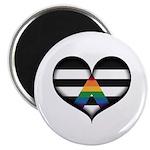 LGBT Ally Heart Magnet