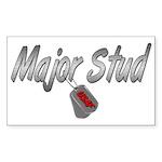 USAF Major Stud ver2 Rectangle Sticker