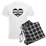 LGBT Ally Heart Pajamas
