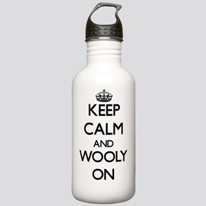 Keep Calm and Wooly ON Stainless Water Bottle 1.0L
