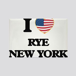 I love Rye New York Magnets