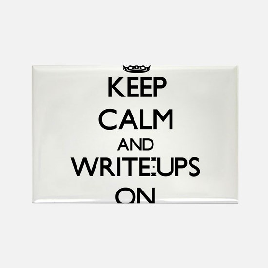 Keep Calm and Write-Ups ON Magnets