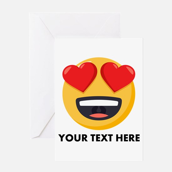 I Love You Personalized Greeting Card