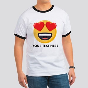 I Love You Personalized Ringer T