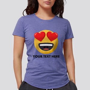 I Love You Personalized Womens Tri-blend T-Shirt