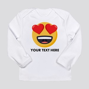 I Love You Personalized Long Sleeve Infant T-Shirt