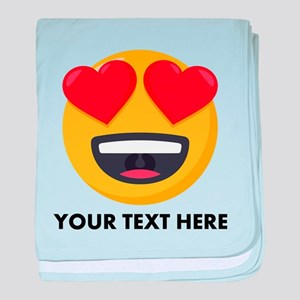 I Love You Personalized baby blanket